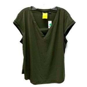7th Avenue Olive Blouse